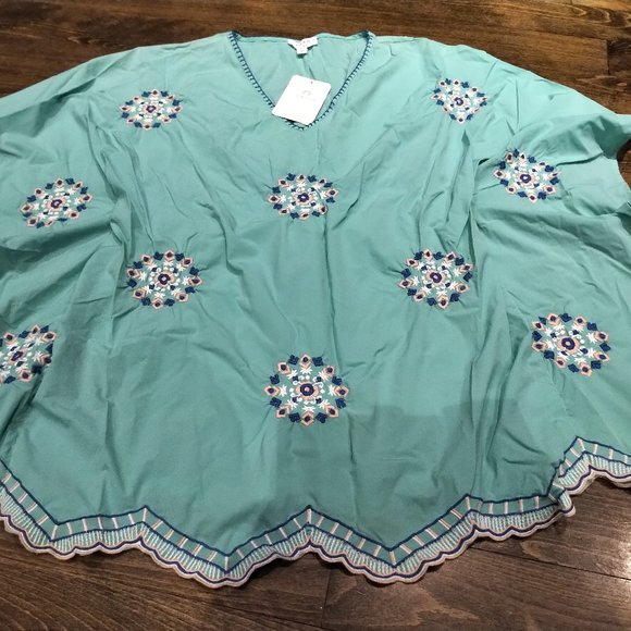 Cabana Life Embroidered Cover-Up 50+SPF